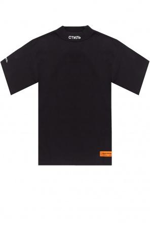 T-shirt ze stójką od Heron Preston