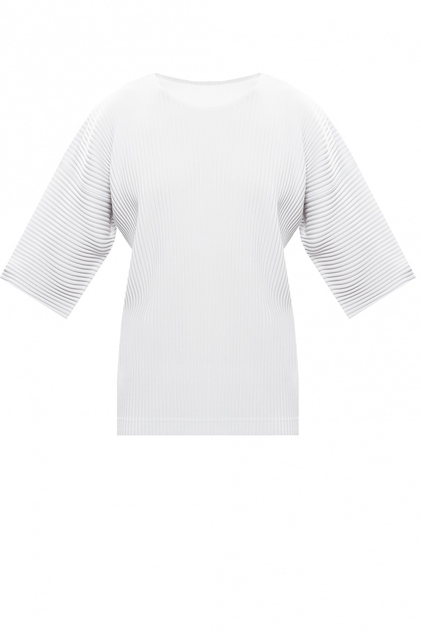 Issey Miyake Homme Plisse Pleated T-shirt
