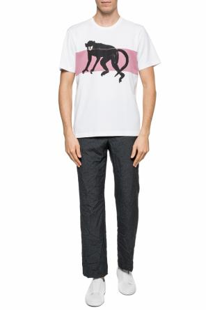 T-shirt with a print od Marni
