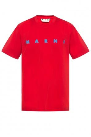 Logo-printed t-shirt od Marni