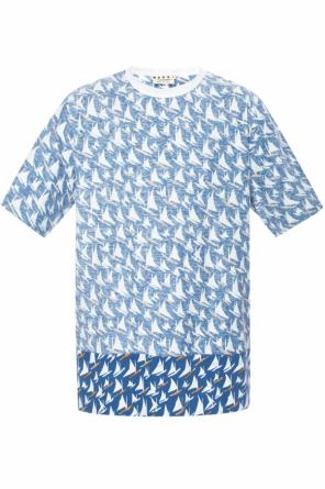 Patterned t-shirt od Marni
