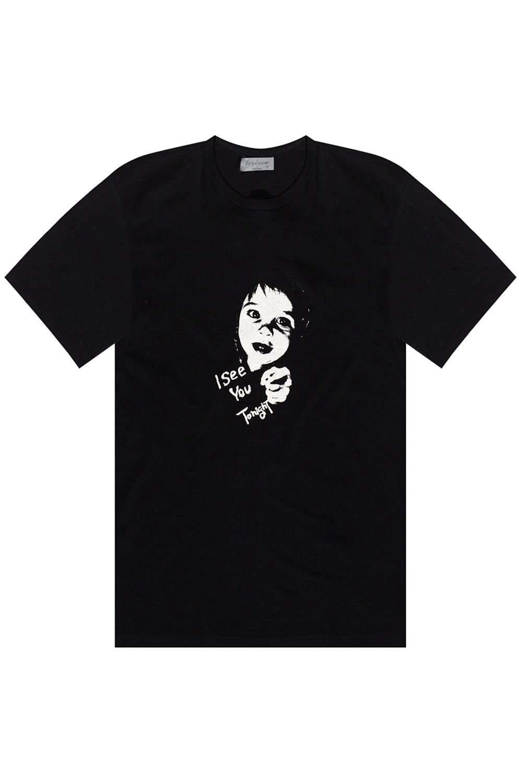 Yohji Yamamoto Printed T-shirt