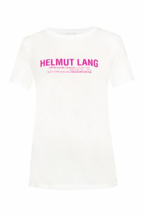 T-shirt with a printed logo od Helmut Lang
