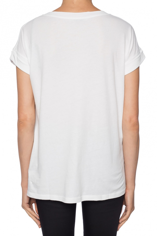 'imogen' crewneck t-shirt od AllSaints