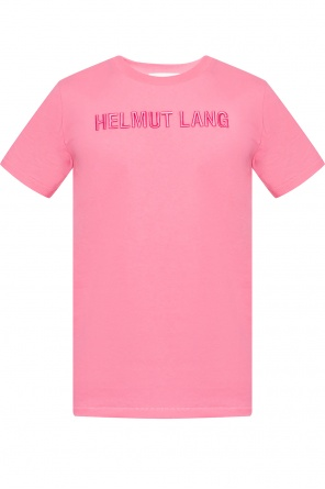 Logo-embroidered t-shirt od Helmut Lang