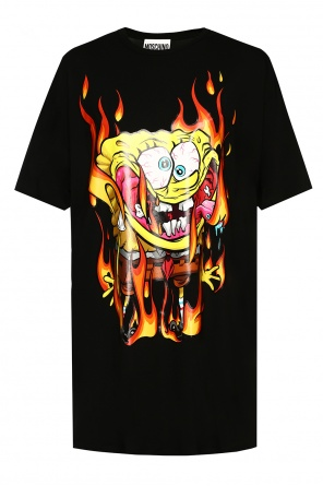 Printed t-shirt od Moschino