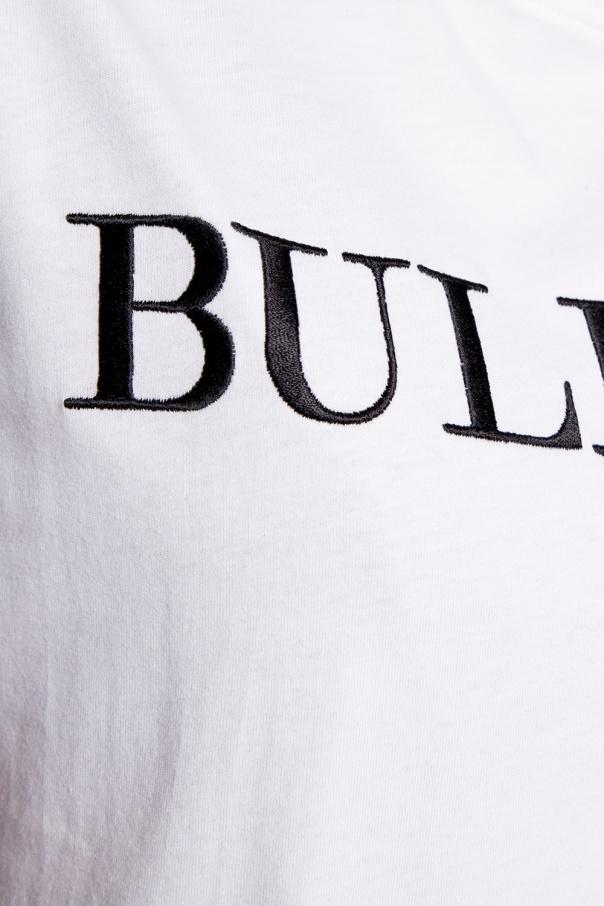 Moschino T-shirt z logo 8iE8nrgP