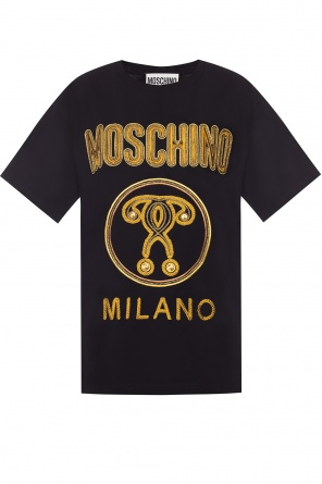 Embroidered t-shirt od Moschino