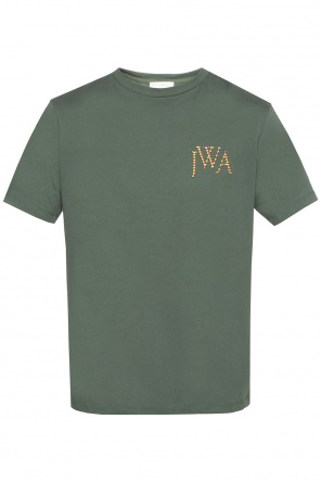 T-shirt with colourful logo od J.W. Anderson