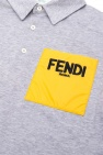 Fendi Kids 标识Polo衫