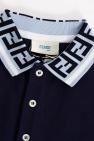 Fendi Kids Polo shirt with logo