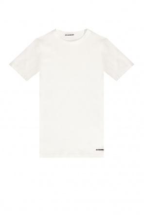 Logo t-shirt od JIL SANDER+