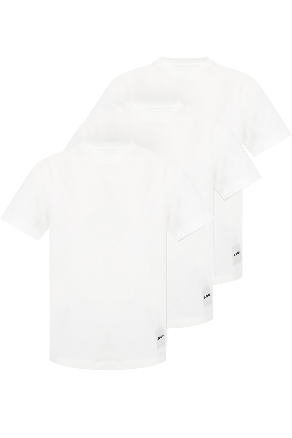 JIL SANDER+ Trójpak t-shirtów z logo