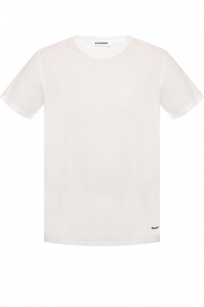 Bawełniany t-shirt od JIL SANDER+