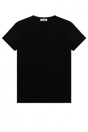 格纹款式t恤 od JIL SANDER