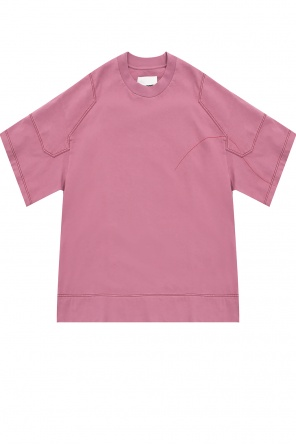 T-shirt with slits od JIL SANDER+