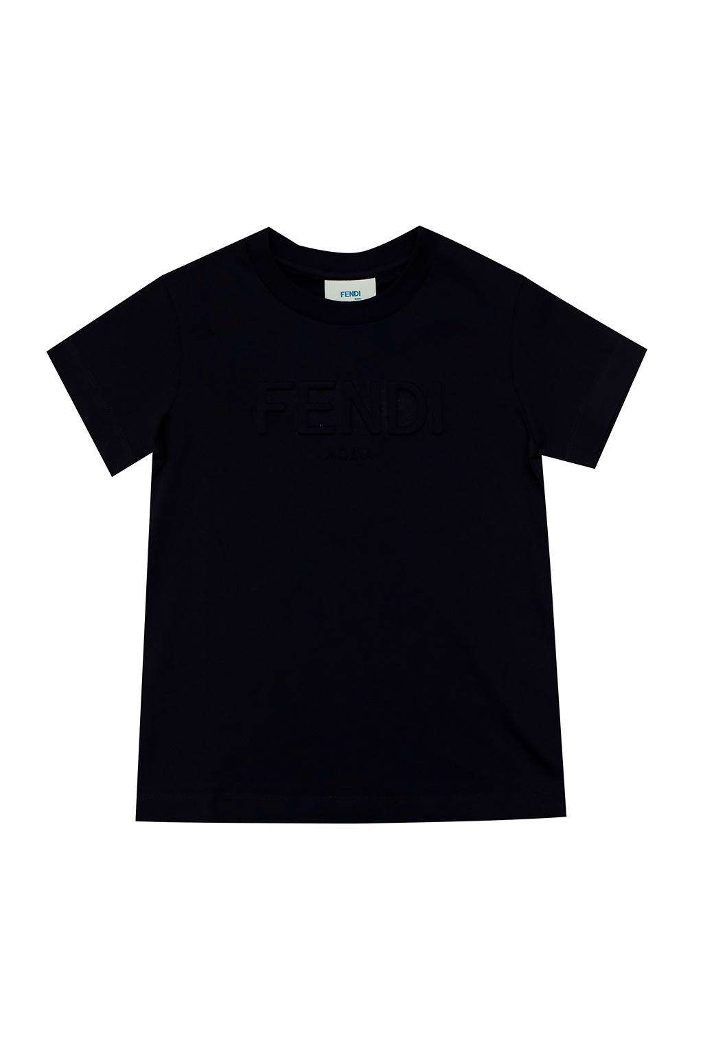 Fendi Kids T-shirt with logo
