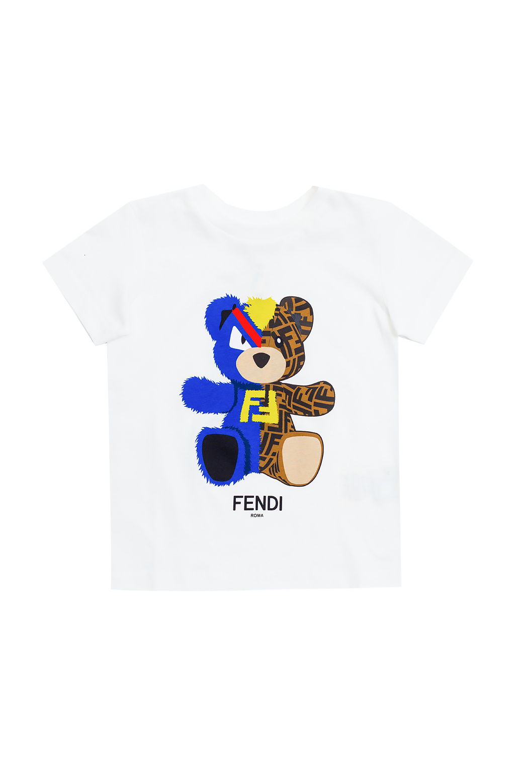 Fendi Kids Printed T-shirt