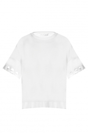 Cut-out t-shirt od Victoria Victoria Beckham