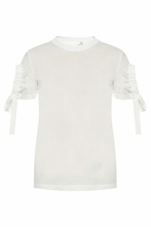 Top with gathered sleeves od Victoria Victoria Beckham