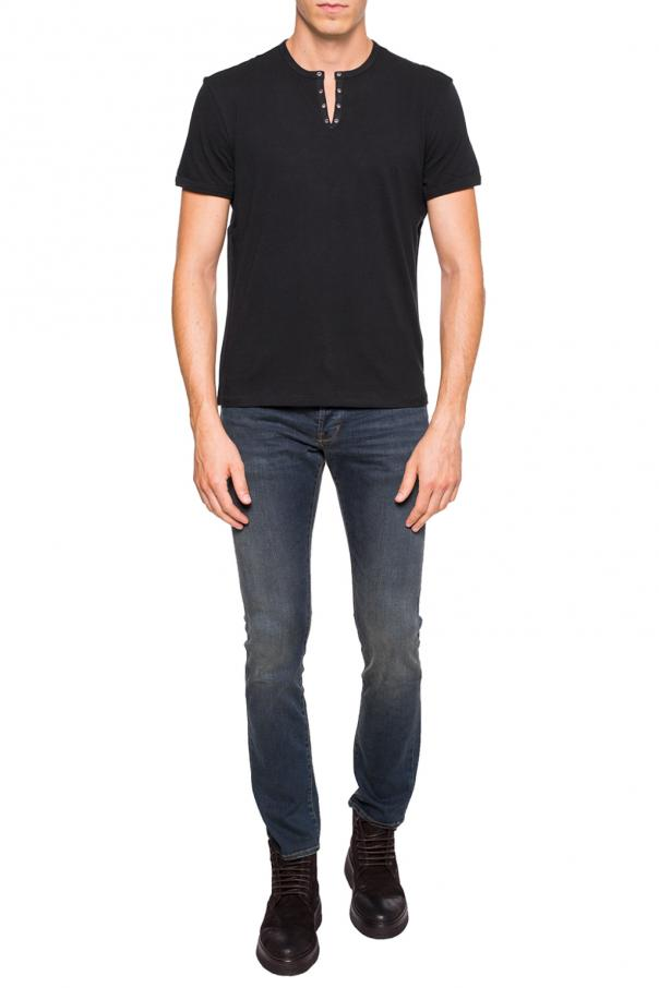 Embelished t-shirt od John Varvatos