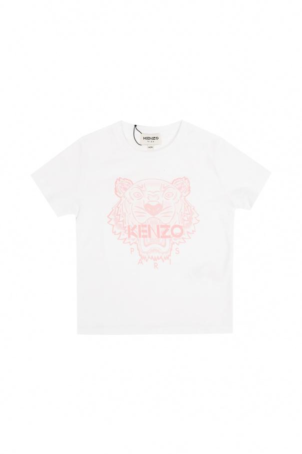 Kenzo Kids Tiger head T-shirt