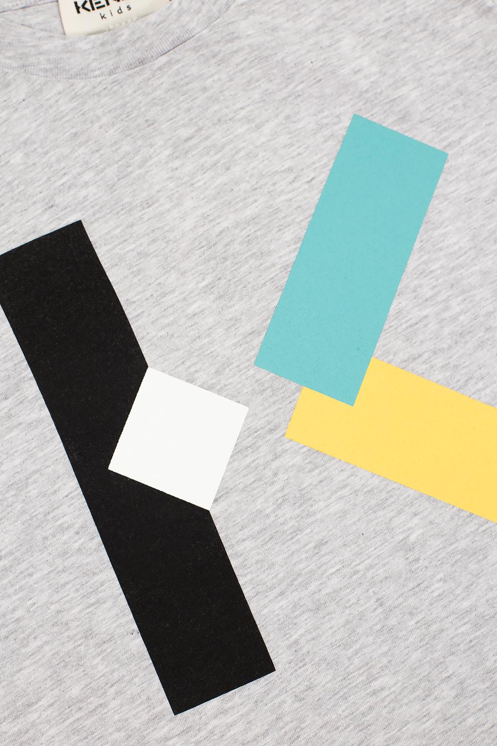 Kenzo Kids Logo-printed T-shirt