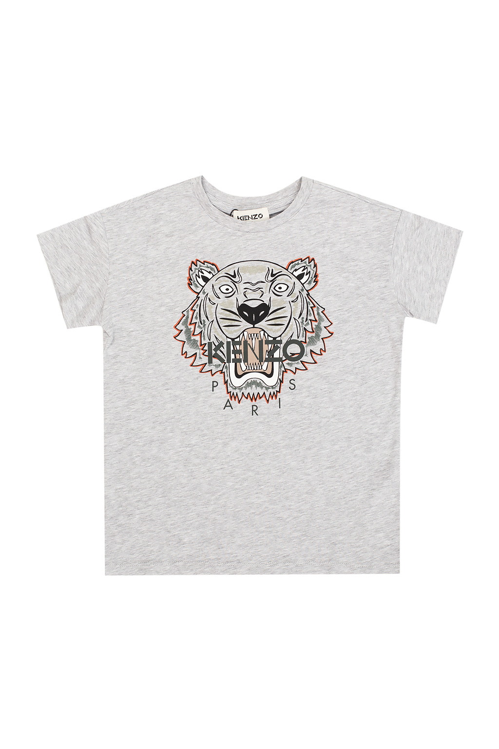 Kenzo Kids T-shirt with tiger head