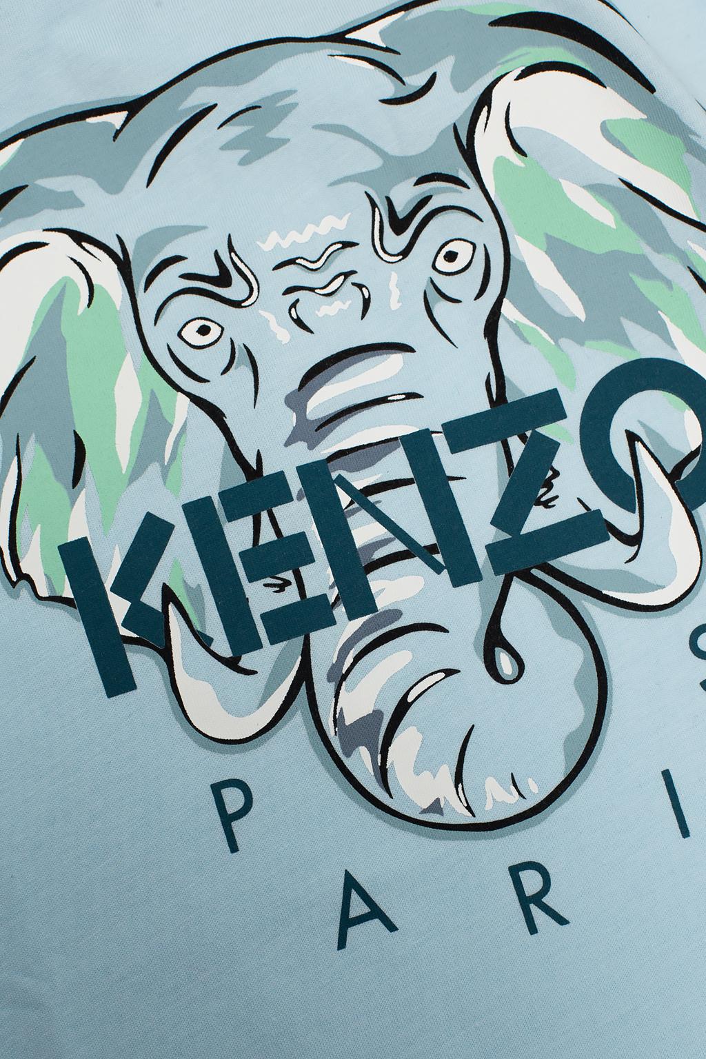 Kenzo Kids 图案饰T恤
