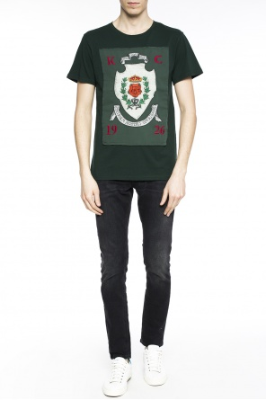 Rose badge t-shirt od Kent & Curwen