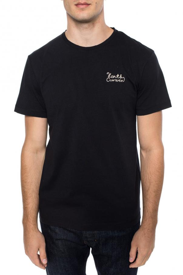 T-shirt with an embroidered logo od Kent & Curwen