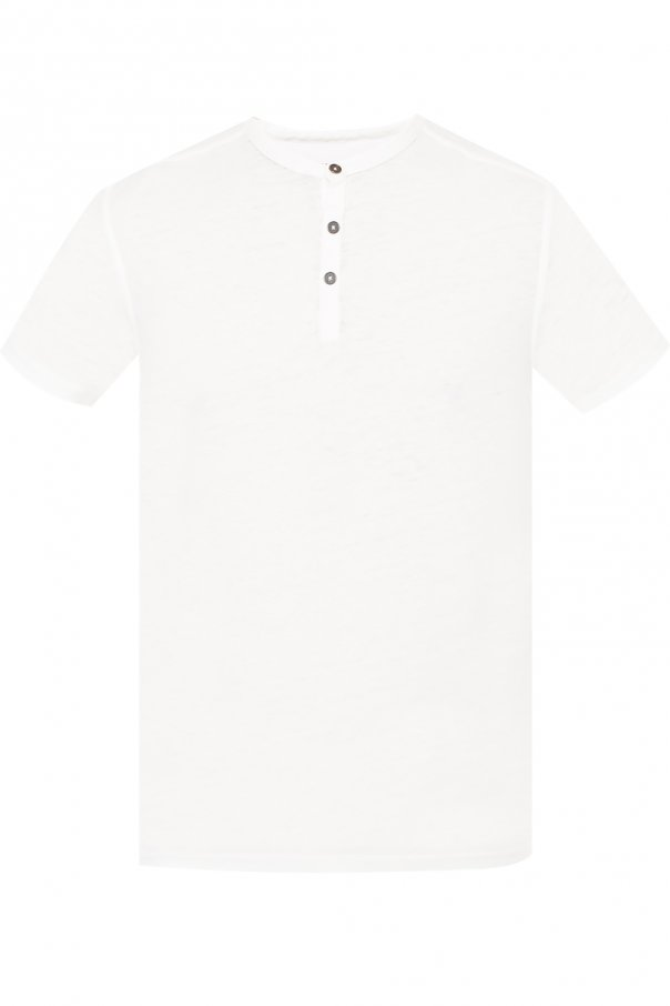 John Varvatos T-shirt with buttons
