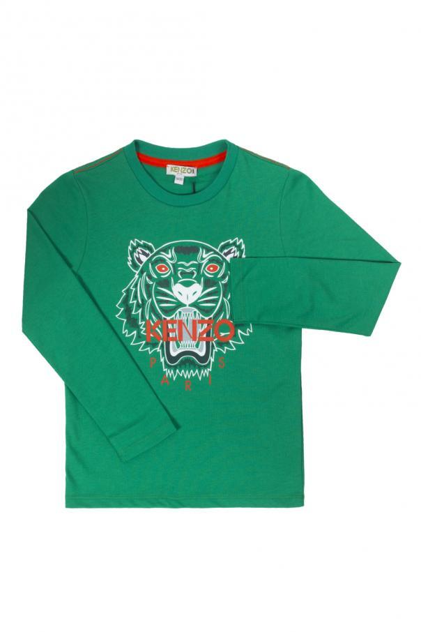 6a5ae946 Printed tiger head T-shirt Kenzo Kids - Vitkac shop online