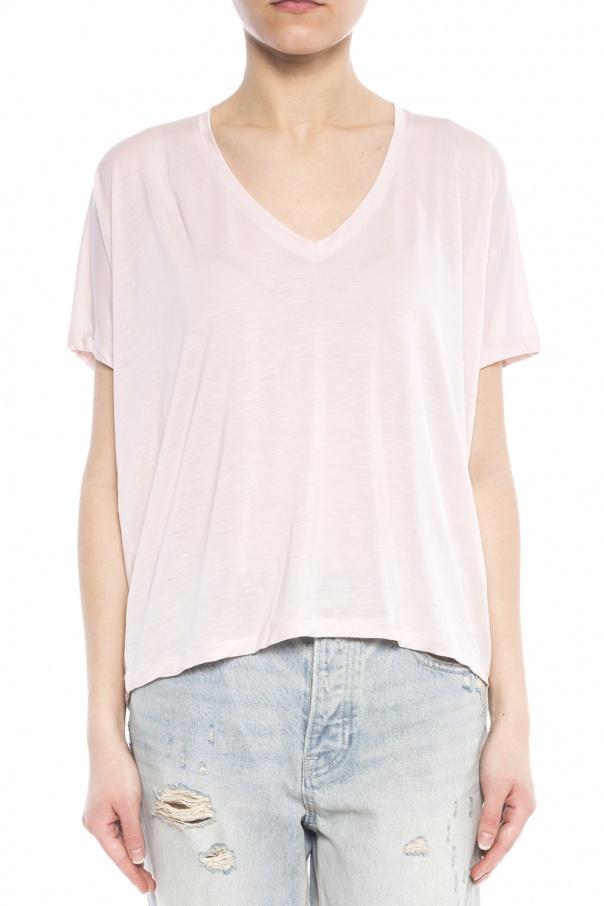 V neck t shirt acne vitkac shop online for V neck t shirt online shopping