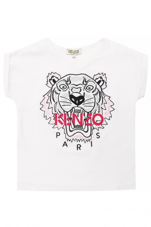 Embroidered t-shirt od Kenzo Kids