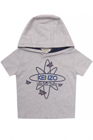 Hooded t-shirt od Kenzo Kids