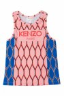 Kenzo Kids Patterned top with logo