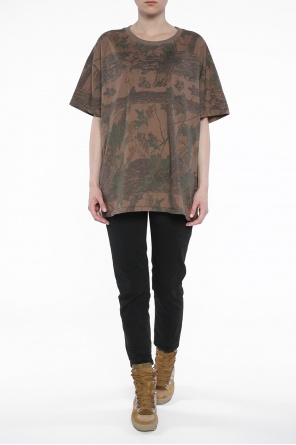 Oversize patterned t-shirt od Yeezy