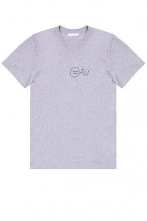 Printed t-shirt od Helmut Lang