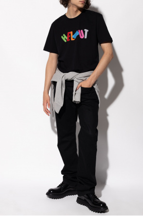 T-shirt with logo od Helmut Lang