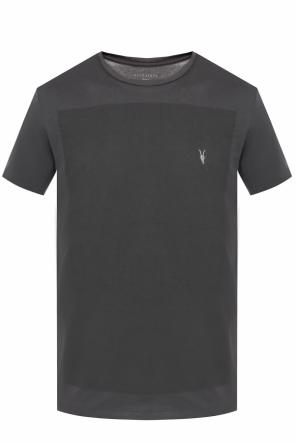 'lobke' logo-embroidered t-shirt od AllSaints