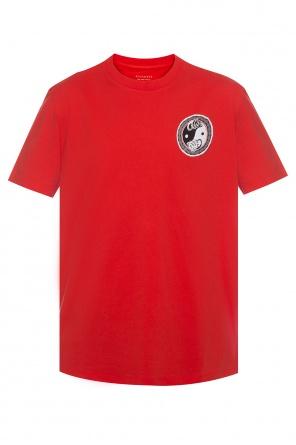T-shirt z nadrukiem 'lunarat' od AllSaints