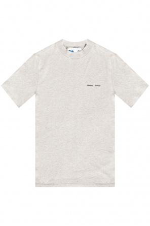 T-shirt with logo od Samsøe Samsøe