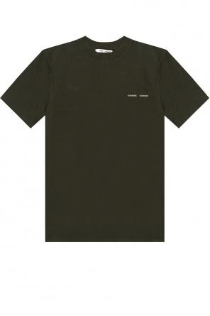 T-shirt z logo od Samsøe Samsøe