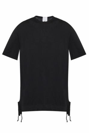 Long t-shirt with fringes od Lost And Found