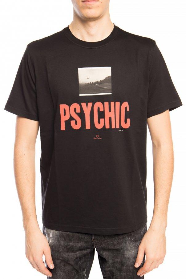 PS Paul Smith T-shirt z nadrukiem MadY9Ke4