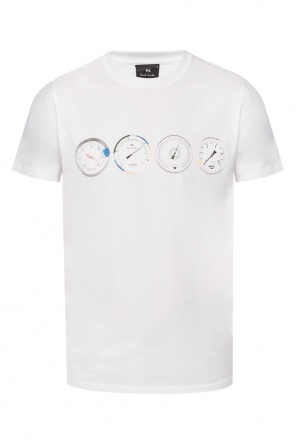 T-shirt with a logo print od Paul Smith