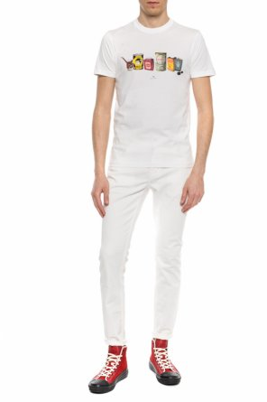 Logo-printed t-shirt od PS Paul Smith