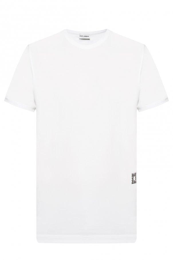 f3d6716a Logo-printed T-shirt Dolce & Gabbana - Vitkac shop online