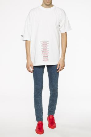 Oversize t-shirt od Vetements